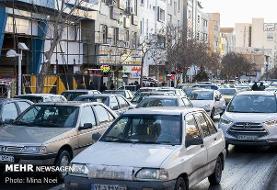 همچنان معابر پایتخت درگیر ترافیک هستند