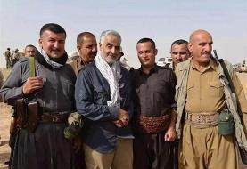 (عکس) ماجرای عکس معروف کُردها با سردار سلیمانی