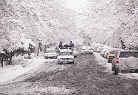 امروز دوشنبه (۲۸ بهمن) کدام استانها برفی و بارانی میشود؟