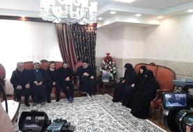 رییس قوه قضاییه با خانواده سردار شهید حاج قاسم سلیمانی دیدار و گفتوگو کرد