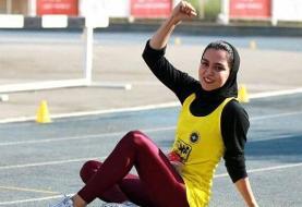 قهرمانی و رکوردشکنی فرزانه فصیحی، سریعترین دختر ایران