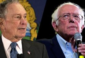 Sanders and Bloomberg exchange blows as Democratic race heats up