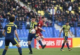 لیگ قهرمانان آسیا؛ شکست سنگین شهرخودرو مقابل پاختاکور
