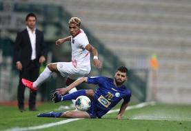 شکست استقلال مقابل الاهلی در نیمه نخست/ پنالتی آبیها از دست رفت