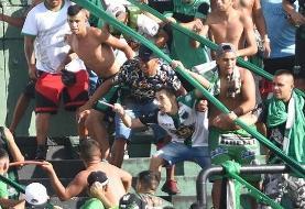 درگیری خونین در حاشیه یک بازی فوتبال