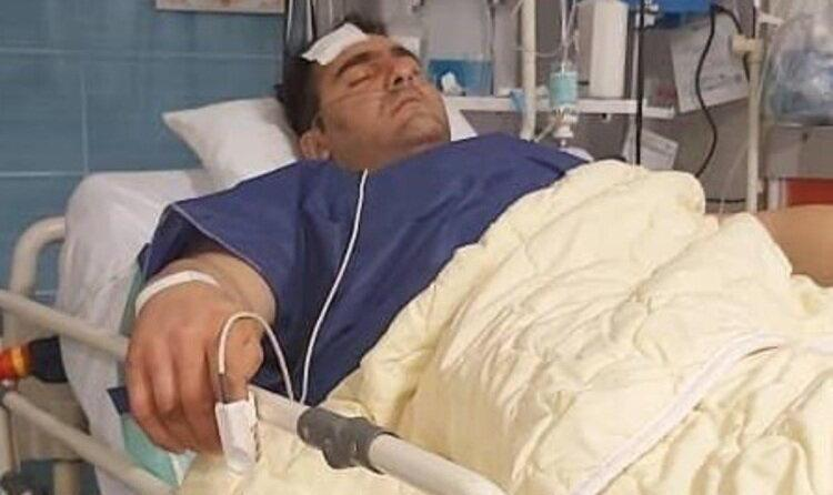 عکس و ماجرای حمله مسلحانه به ورزشکار قویترین مردان ایران در شهریار
