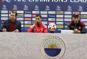 گلمحمدی: مهمترین هدف پیروزی مقابل الشارجه است/ این بازی یک فینال است