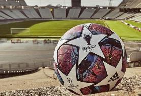 (عکس) رونمایی از توپ فینال لیگ قهرمانان اروپا ۲۰۲۰