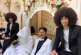 عکس | صحنه عروسی رحمت در سریال «پایتخت ۶»
