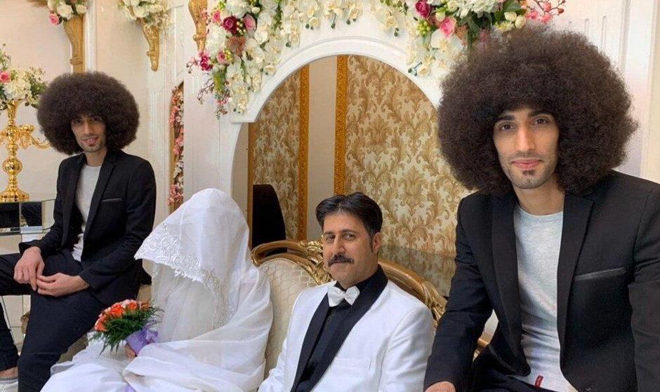 عکس: صحنه عروسی رحمت در «پایتخت ۶»