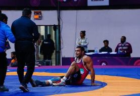 Video: Iranian wrestler forfeits match he had won 6 seconds before reaching Asian finals!