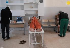 (تصاویر) بقایای داعش؛ مردها در زندان، زنان و کودکان در اردوگاه