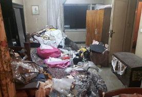 مرگ پیرزنی تنها در پی آتشسوزی در خیابان ظهیرالاسلام