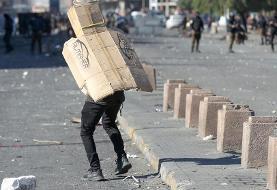 (تصاویر) ادامه اعتراضات خیابانی در عراق