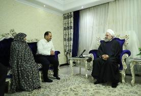 روحانی: مردم ایران در برابر توطئه دشمنان ایستادگی میکنند