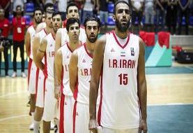 ۱۲ بازیکن نهایی ایران برای بسکتبال کاپ آسیا انتخاب شدند