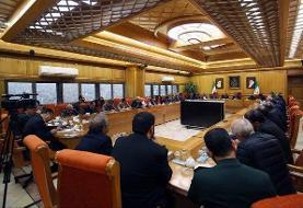 جلسه هماهنگی دستگاههای مختلف برای مقابله با کرونا در وزارت کشور