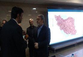رحمانی فضلی از محل اخذ رأی در ساختمان وزارت کشور بازدید کرد
