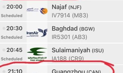سازمان هواپیمایی: اگر پروازی بین ایران و چین انجام می شود، با موافقت و نظارت وزارت بهداشت است!