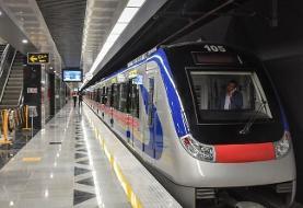 مشاهده یک مورد مشکوک به کرونا در مترو شوش