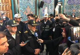 توضیحات رییس پلیس پایتخت درباره تمهیدات انتظامی انتخابات