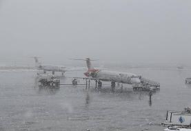 پرواز ورودی به فرودگاه ارومیه لغو شد