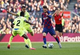 واکنش مسی به حواشی اخیر در باشگاه بارسلونا