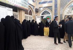 گزارش ایسنا از مسجد لرزاده تهران