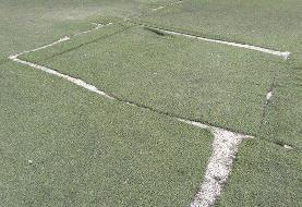 تمرین فوتبالیستهای ناشنوا روی موکت به جای زمین چمن!