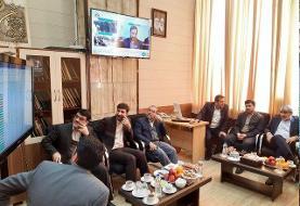 رصد لحظه به لحظه وضعیت انتخابات از اتاق مانیتورینگ در ستاد مرکزی نظارت بر انتخابات