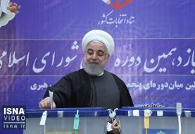 ویدئو / حضور رئیسجمهور در انتخابات مجلس و میاندورهای خبرگان