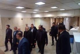 بازدید رئیس مجلس از ستاد انتخابات کشور