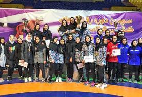 تیم مازندران فاتح رقابتهای کشتی کلاسیک بانوان قهرمانی کشور شد