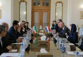 وزیر امور خارجه هلند با ظریف دیدار کرد