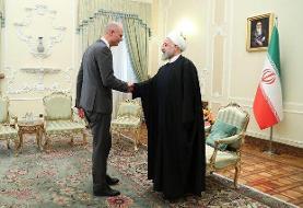 وزیرخارجه هلند با روحانی دیدار کرد