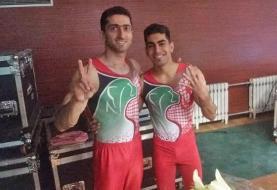 جام جهانی ژیمناستیک؛ کسب دو مدال نقره ارزشمند توسط کیخا و کهنی