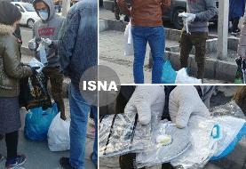 (تصویر) بازار سیاه فروش ماسک در تهران، از ۱۵ تا ۴۰ هزار تومان!