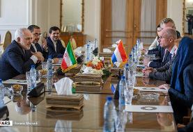 در دیدار وزیر امور خارجه هلند با ظریف چه گذشت؟