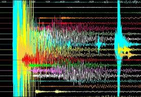 مختصات زلزله ۵.۷ ریشتری