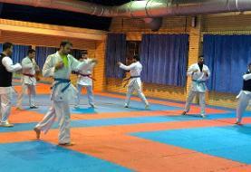نخستین گروه تیم ملی کاراته ایران عازم وین شد