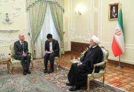 روحانی: تحریم آمریکا مانند کرونا است