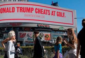 Mike Bloomberg is going after Trump with billboards mocking him for eating burnt steak and ...