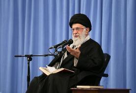 تشکر عمیق آیت الله خامنه ای از ملت ایران در پی