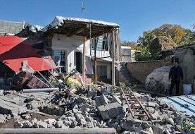 ۴۵ روستا تحت تاثیر مستقیم زلزله قرار گرفتند