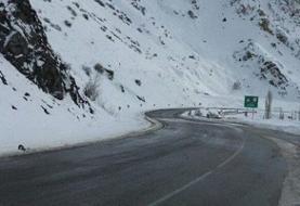 سقوط ۳ بهمن در جاده کرج - چالوس