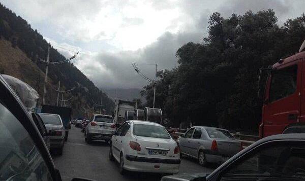 جاده شمال به خاطر فرار میلیونها تهرانی از کرونا بند آمد!