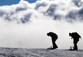 بهمن جان اسکیباز ایتالیایی را در دربندسر گرفت
