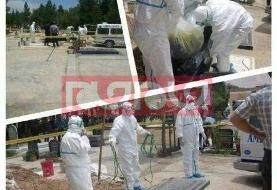 ماجرای عکس منتسب به تدفین مبتلایان به کرونا در ایران