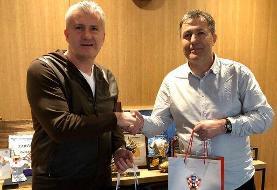 اسکوچیچ با رییس فدراسیون کرواسی دیدار کرد