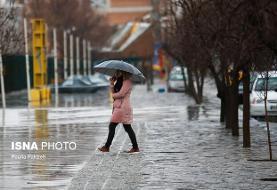 بارش شدید باران در سواحل غربی و مرکزی دریای خزر/ کاهش محسوس دمای هوا در ...